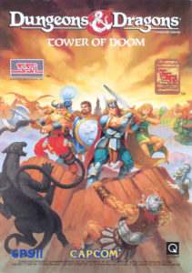 Dungeons & Dragons: Tower of Doom by Capcom