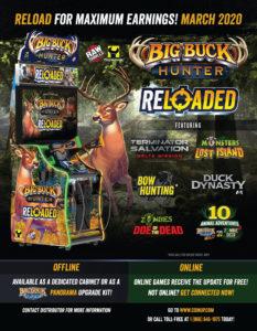 Big Buck Hunter Reloaded by Play Mechanix / Raw Thrills