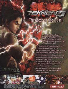 Tekken 5: Dark Resurrection by Bandai Namco