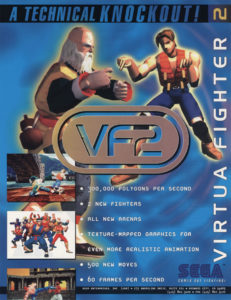 Virtua Fighter 2 by Sega
