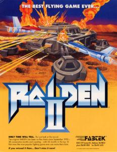 Raiden II by Seibu Kaihatsu