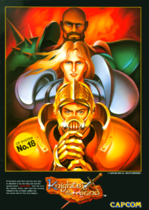 Knights of the Round by Capcom
