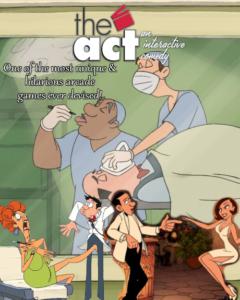 The Act: An Interactive Comedy by Cecropia (2007)