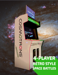 Cosmotrons indie game