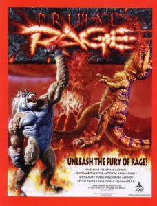 Primal Rage 1v1 fighting game by Atari Games