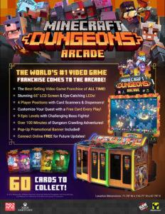 Minecraft Dungeons Arcade by Raw Thrills