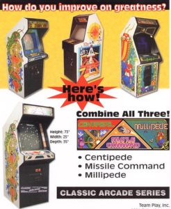Centipede/Millipede/Missile Command by Team Play